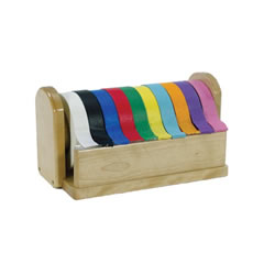 10-Roll Kraft Tape with Dispenser