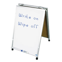 Combination Flannel Board & Write On/Wipe Off Easel