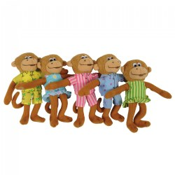 Five Little Monkeys Finger Puppets