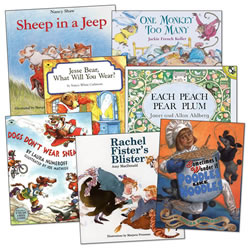 Phonemic Awareness Book Set (Set of 7)