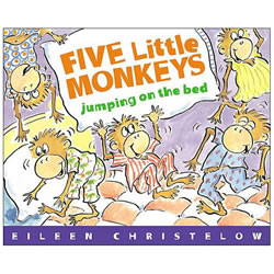 Five Little Monkeys Jumping on the Bed - Big Book