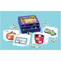 Word Families Phonics Center Kit
