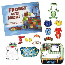 Froggy Gets Dressed Felt Story Set