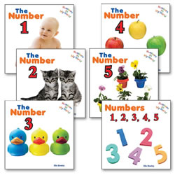 Numbers in My World Board Book Set (Set of 6)