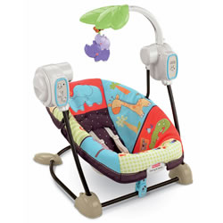 Luv U Zoo™ SpaceSaver™ Swing & Seat