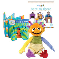 Eebee's Adventures Book & Plush Set