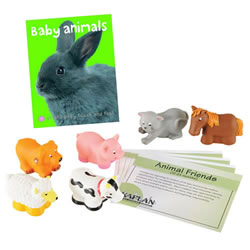 Animal Friends Backpack Kit