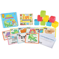 Learning about Letters Backpack Kit
