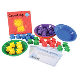 Counting & Sorting Backpack Kit