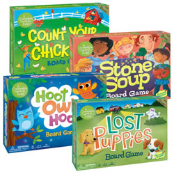 Cooperative Board Game Set