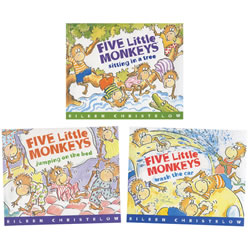 Five Monkeys Book Trio