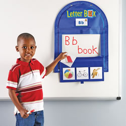Letter Box Pocket Chart