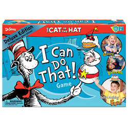 Cat in the Hat I Can Do That Game