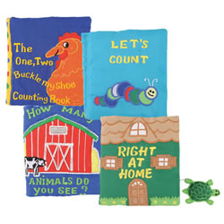Fabric Mini Books (Set of 4)