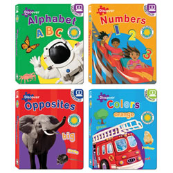 Discovery Board Book Set (Set of 4)