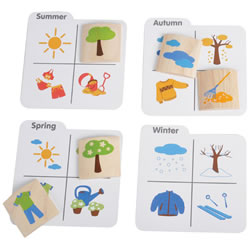 Matching Seasons Game