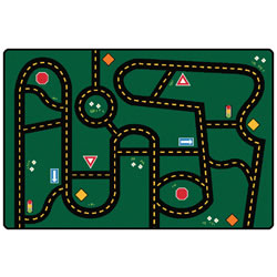 Go-Go Driving Rug