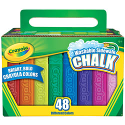 Crayola® Washable Sidewalk Chalk