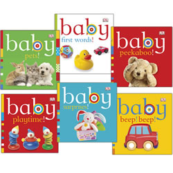 Baby's World Board Book Set (Set of 6)