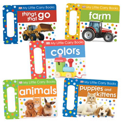 My Little Carry Board Book Set (Set of 5)