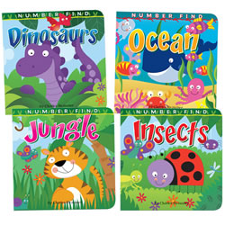 Number Find Board Book Set (Set of 4)
