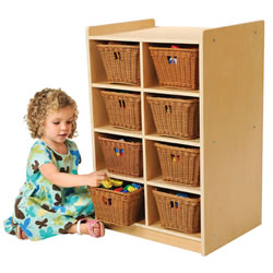 8 Cubbie Storage Unit