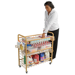 Mobile Store-It-All Cart