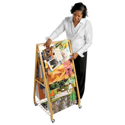 Mobile Big Book Storage Caddy