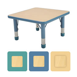 "K System® Adjustable Rectangle 24""x 24"" Table"