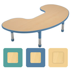 "K System® Adjustable Jellybean 32"" x 60"" Table"