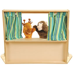 Toddler Puppet Theater