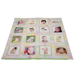 Baby's World Picture Activity Quilt