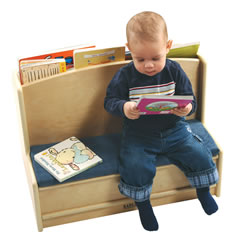 Toddler Sit & Read Bench