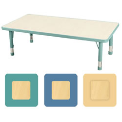 "K System® Adjustable Rectangle 30"" x 48"" Table"