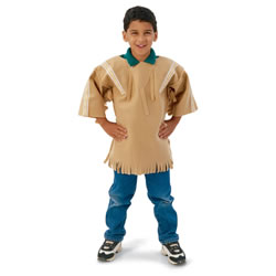 Multi-Ethnic Ceremonial Costume - Native American Boy