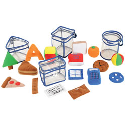 Sensory Shape Jars (set of 4)
