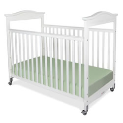 Biltmore™ Full-Size Fixed-Side Clearview Crib - White