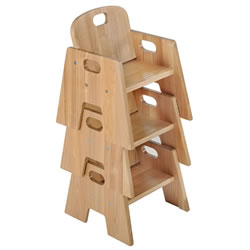Ash Toddler Stacking Chair - (Set of 2)