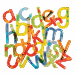 Alphabet Shimmer Shapes