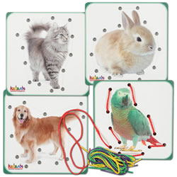 Pet Animal Lacing Boards