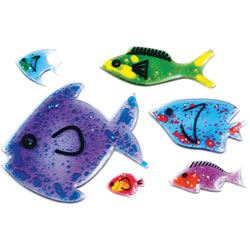 Shimmer Shapes Fish