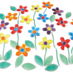 Shimmer Shapes Flowers