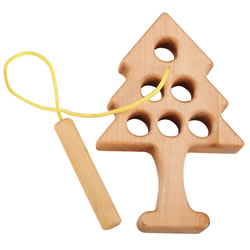 Wooden Lacing Tree