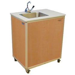 Single Basin Handwashing Sink - Maple