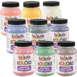 Kaplan Kolors Finger Paint (8 oz)