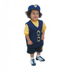 Police Officer Vest & Hat