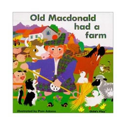 Old MacDonald Had A Farm: Classic Book Series (Board Book)