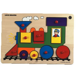 Puzzibilities Loco Puzzle Shapes Level 2