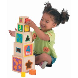 High Five Stacking Blocks