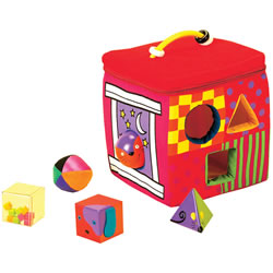 Whose House Shape Sorter